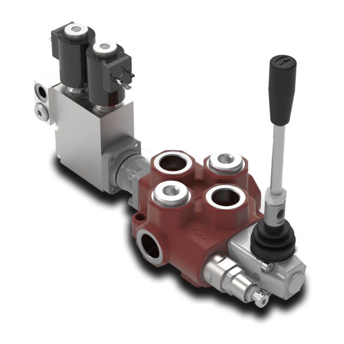 Walvoil Galtech SD14 Monoblock One-Section Valve