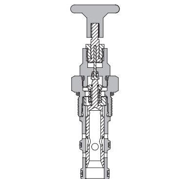 Eaton Vickers MSV2-12 Screw-in Manual Push Cartridge Valve