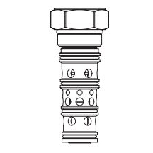 Eaton Vickers PTS9-20 Screw-in Pilot to Shift Cartridge Valve